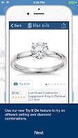Want to See That Ring on Finger? Check out Blue Nile's New App | Engagement Ring Voyeur