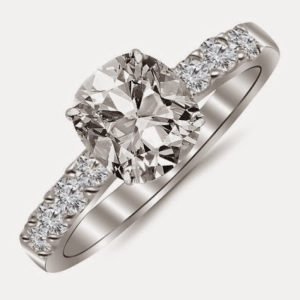 GIA Certified Engagement Rings on Amazon