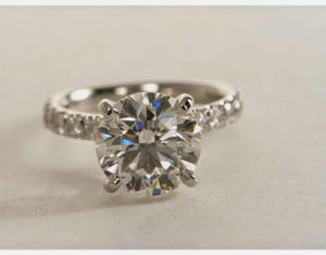 Buying a 3 Carat Ring Online? They Did! | Engagement Ring Voyeur