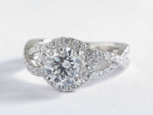 Infinity Engagement Ring from Blue Nile and Colin Cowie | Engagement Ring Voyeur