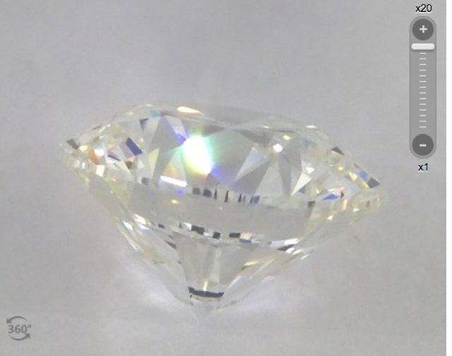 diamond from James Allen under $2000