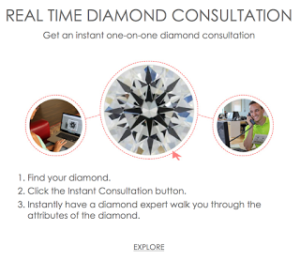 James Allen's Real Time Diamond Consultation | Engagement Ring Voyeur