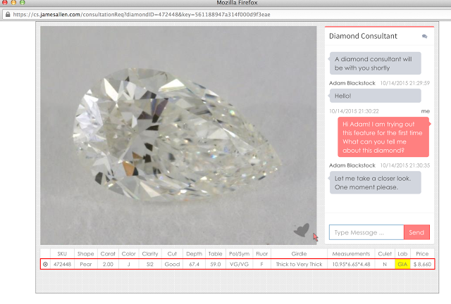 James Allen - the Best Place to buy a diamond online