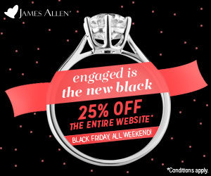 James Allen and Blue Nile Black Friday Deals