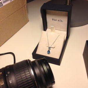 Win a Necklace from Blue Nile! | Engagement Ring Voyeur