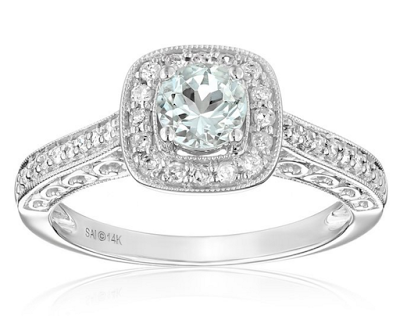 affordable engagement ring from Amazon