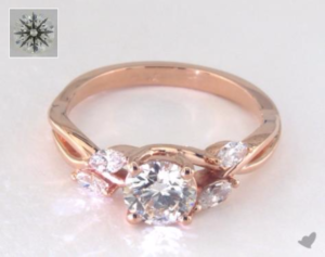 Rose Gold Engagement Rings Under $3000 | Engagement Ring Voyeur