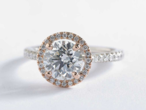 Romantic Halo Setting: High and Low | Engagement Ring Voyeur