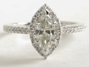 Marquise Halo Under $3000