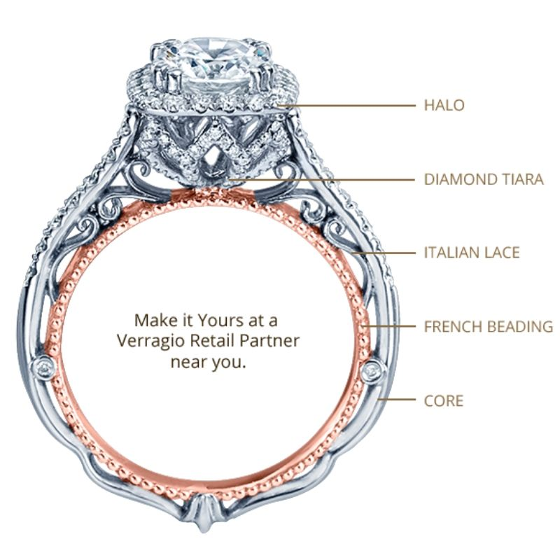 Authentic Verragio Engagement Ring