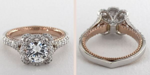 Verragio Couture Collection Engagement Ring