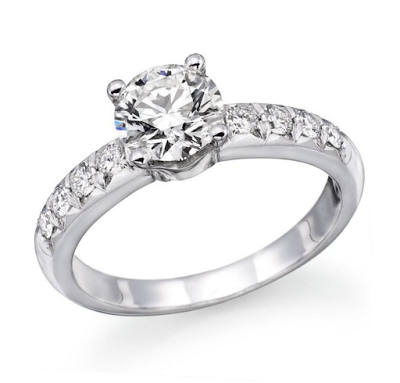 1 carat engagement ring on Amazon
