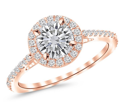 Houston Diamond District Engagement Ring