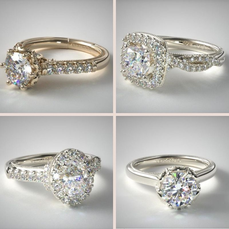 Verragio Classic Collection Engagement Rings