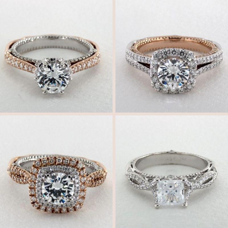 Verragio Venetian Engagement Ring Collection