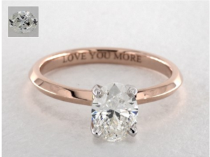 Oval Engagement Rings Under $5000