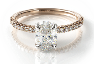 James Allen is quickly becoming the top site to buy an engagement ring online