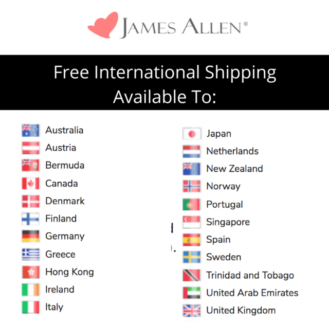 James Allen International Shipping