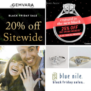 Black Friday Deals on Engagement Rings 2017
