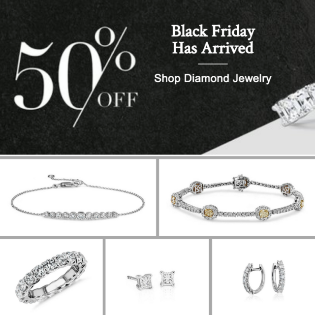 Blue Nile Black Friday Sale