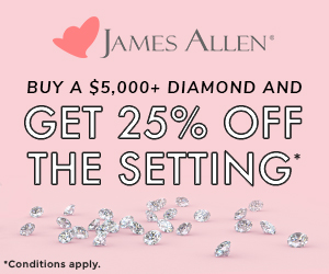 James Allen Secret Sale