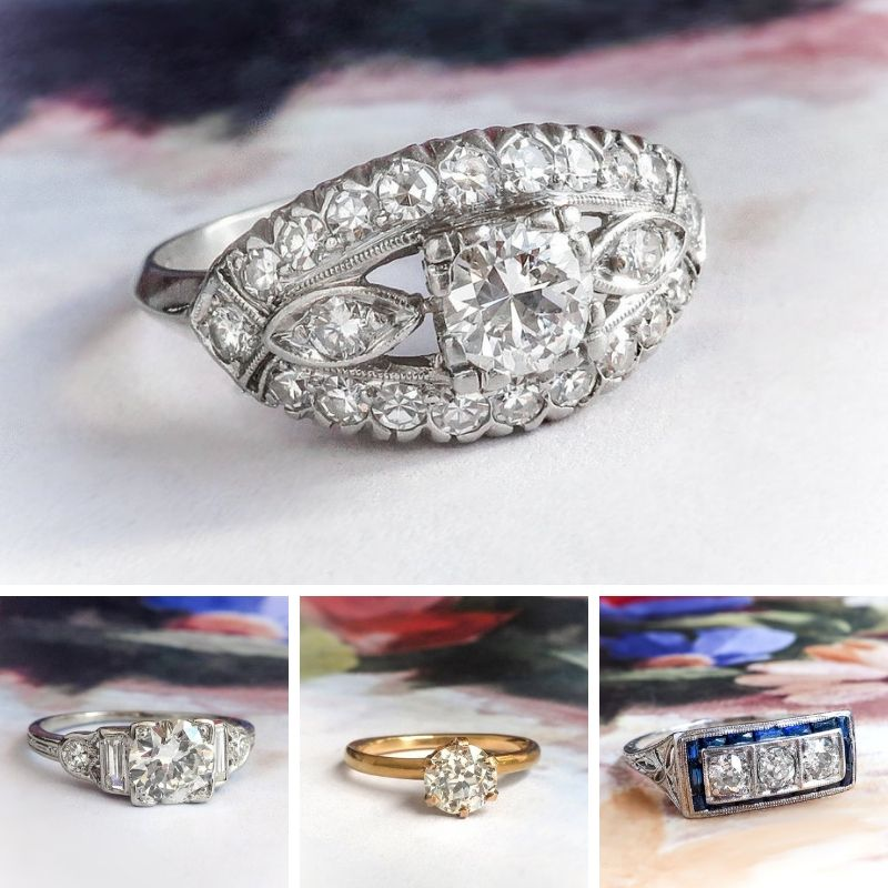 Victorian and Edwardian Engagement Ring