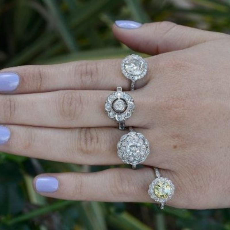 Vintage Rings on Etsy