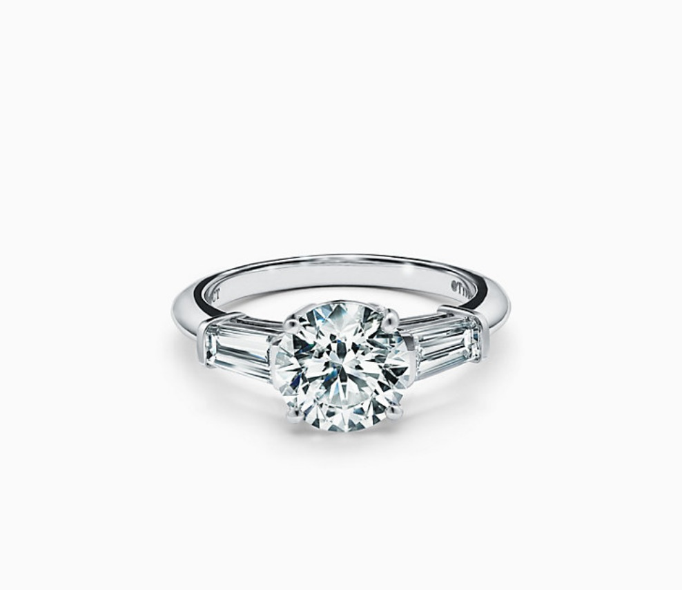 Tiffany 3 Stone Engagement Ring Replicas