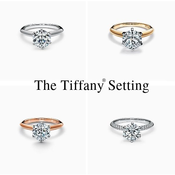 Tiffany Setting Six Prongs