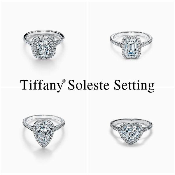 Tiffany Soleste Replica Setting