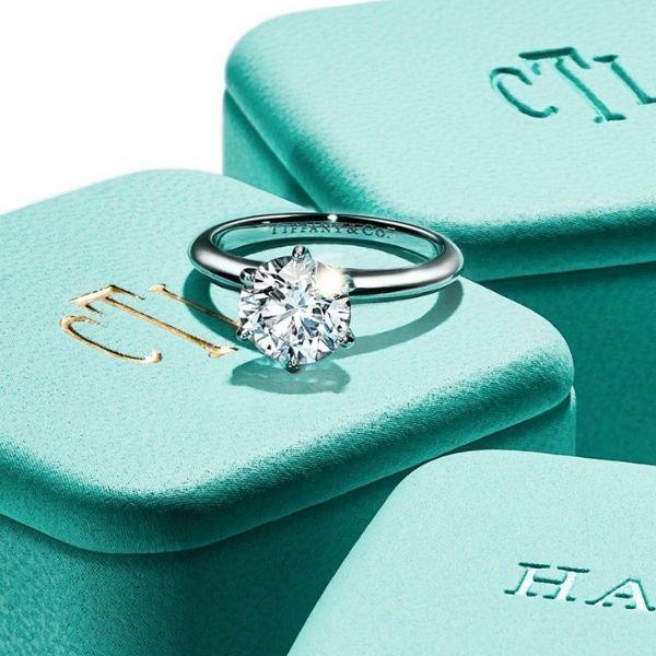 High-Quality Tiffany Replica Engagement Rings