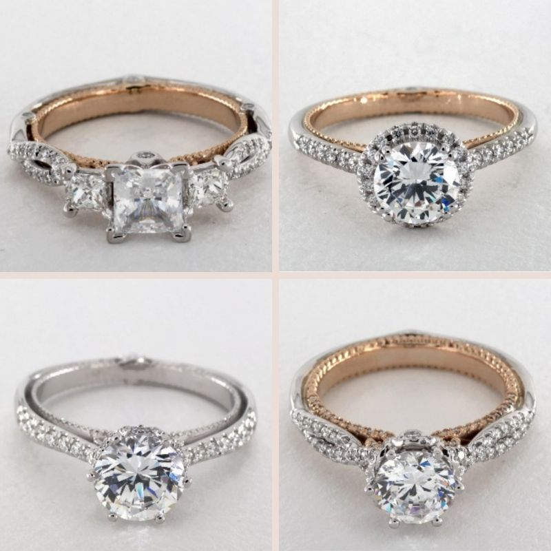 Verragio Couture Engagement Ring Collection