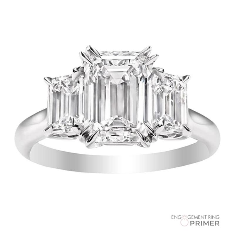 Houston Diamond District Emerald Cut