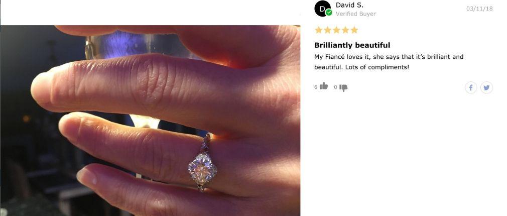 James Allen Diamond Filigree Engagement Ring Review