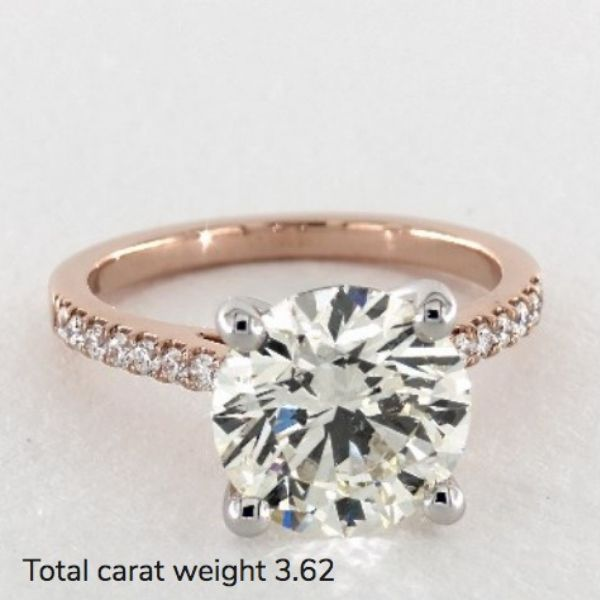 3 carat wedding ring