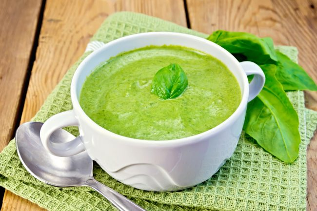 Pumpkin Spinach Soup