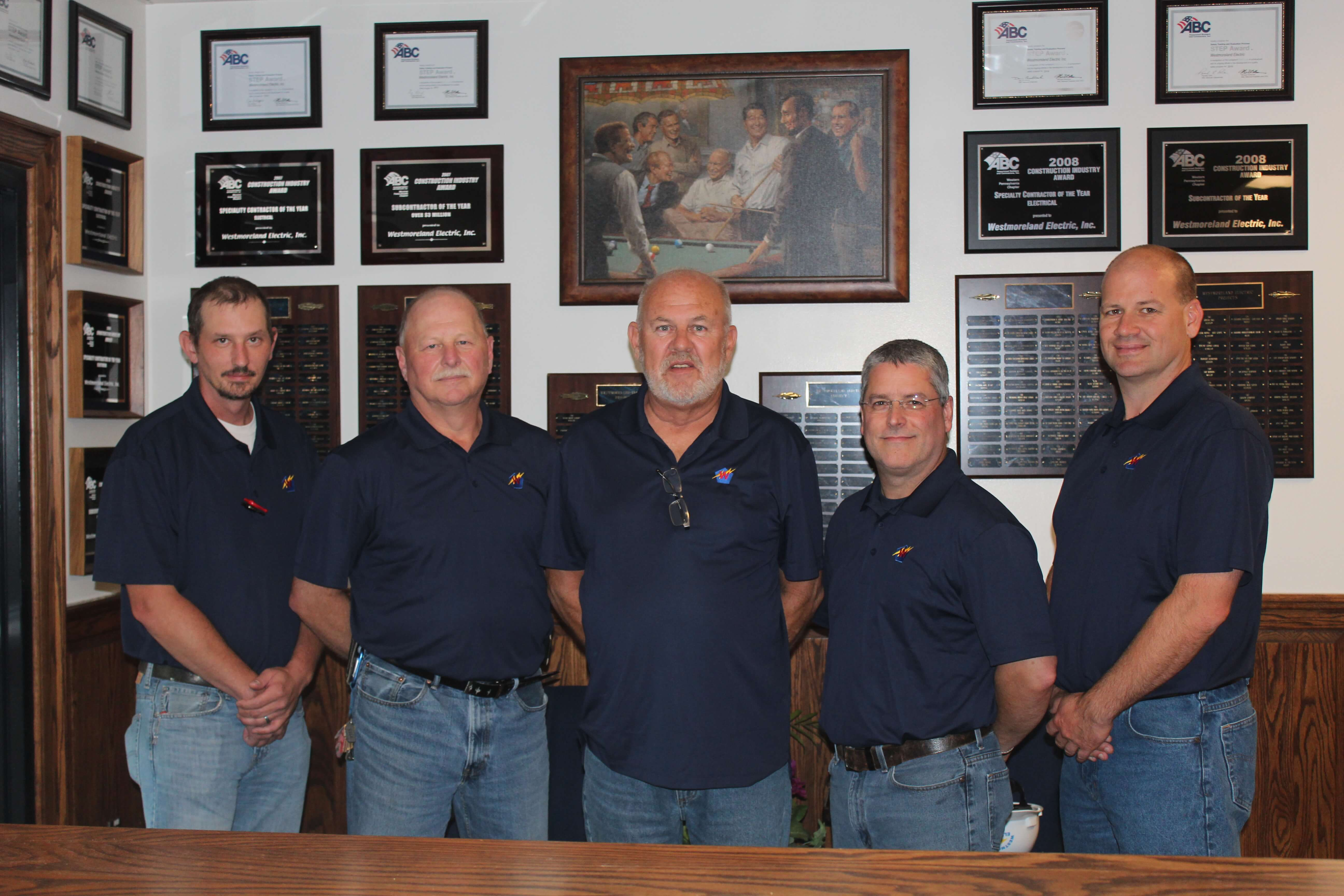 Westmoreland Electric Project Managers