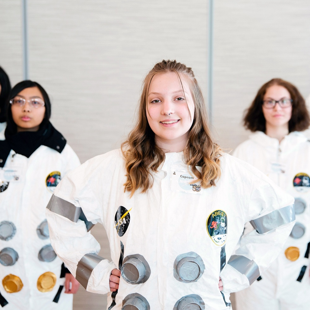 Students Recreate Apollo 11 Moon Landing with NASA Challenge