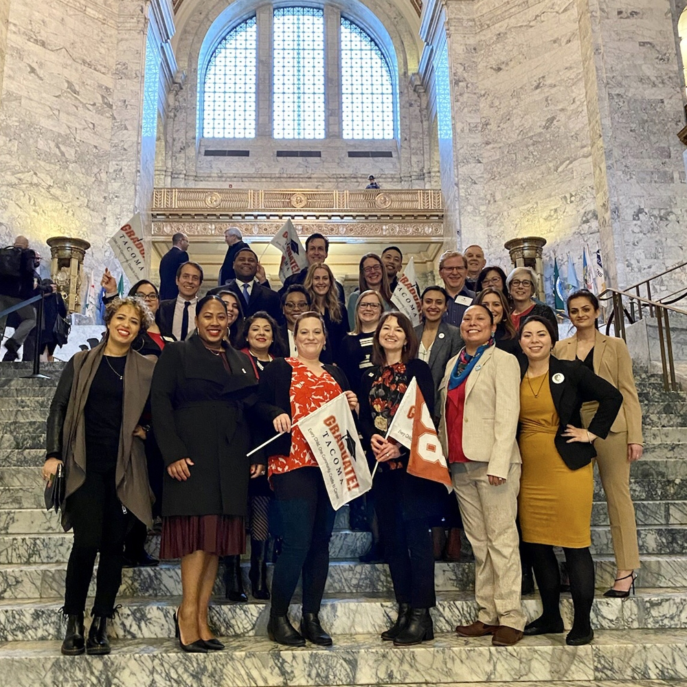 Highlights From Graduate Tacoma Advocacy Day 2020