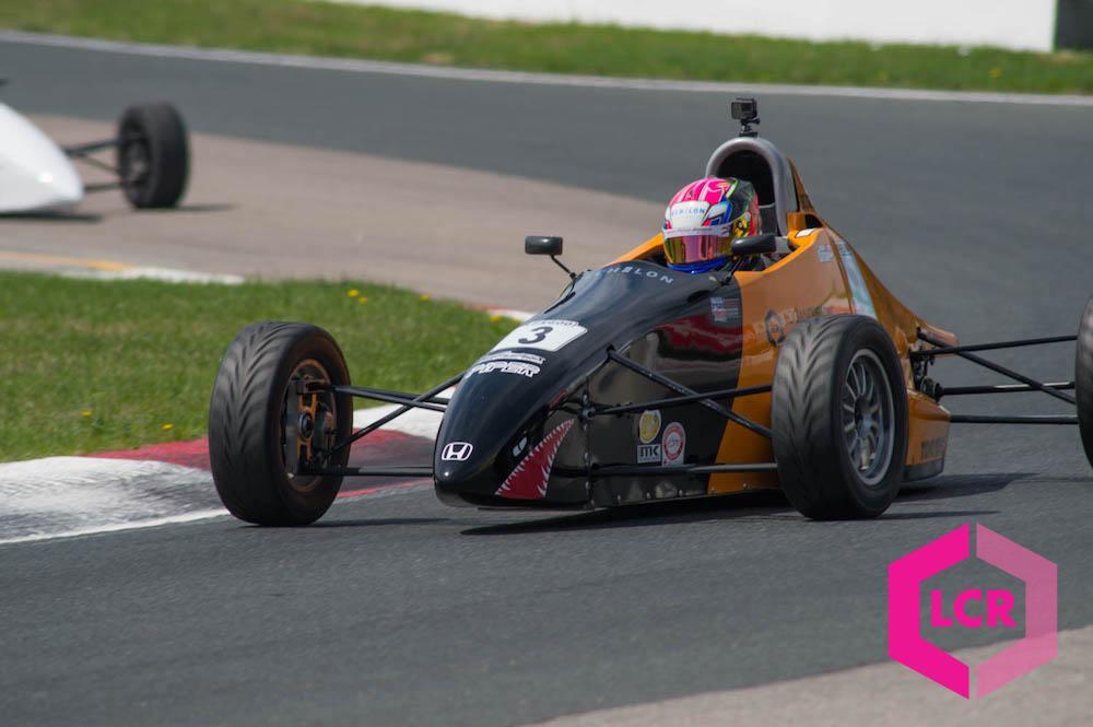 Echelon Race Car taking corner 3 at Canadian Tire Motorsport Park