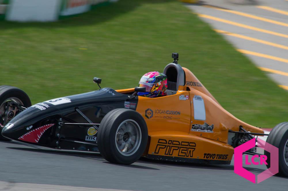 Echelon Wealth Partners supports Logan Cusson Racing Race Car