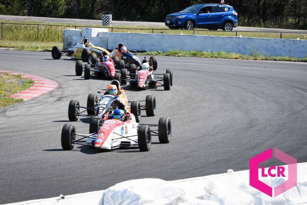Chasing Kellen Ritter through corner 14 at Shannonville Motorsport Park