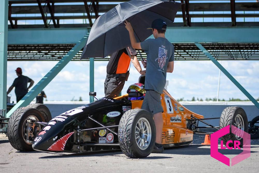 Keeping race drivers cool at Shannonville Motorsport Park