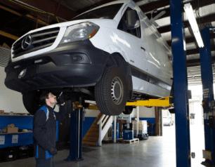 Mercedes Benz Service & Repair Shop