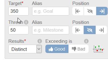 Setting First Goal