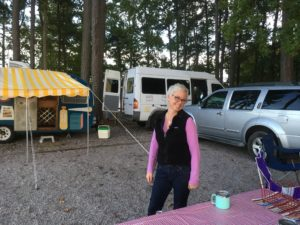 Just arrived at County Line Campground at Kerr Lake, NC