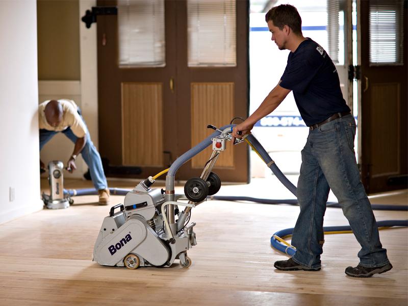 hardwood floor refinishers