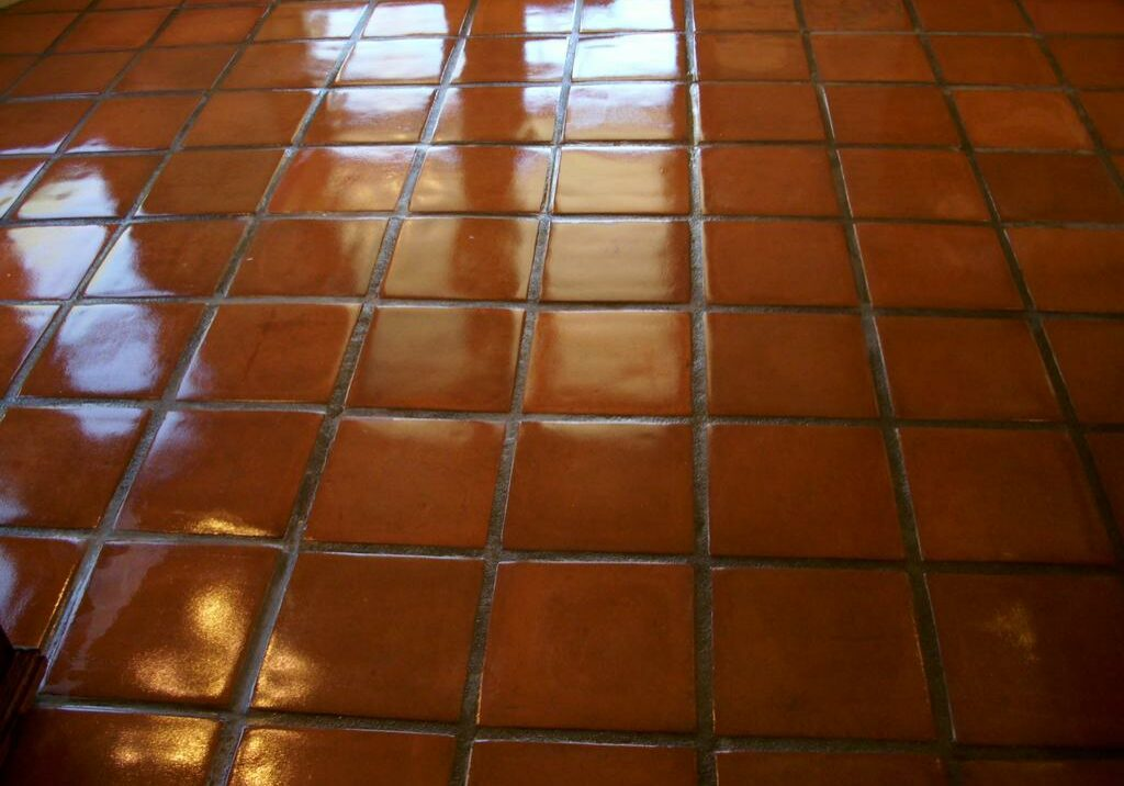 saltillo tile sealed