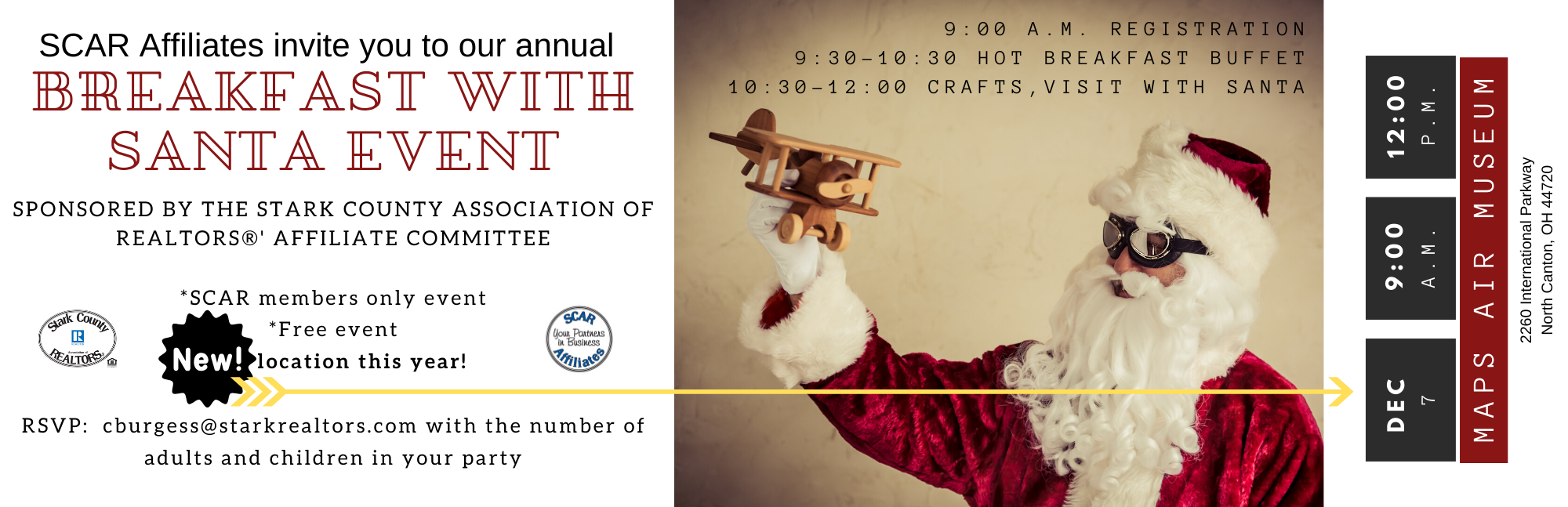 Annual Breakfast with Santa Event