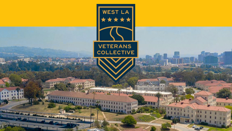 Screenshot of the West LA Veterans Collective Website